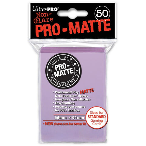 Ultra Pro - Matte Lilac 50 count