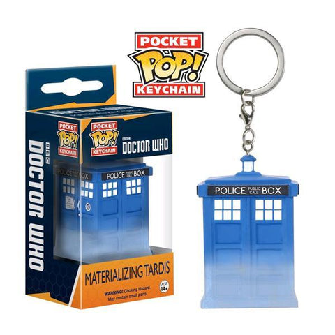 Dr Who - Materialize TARDIS Pop! Keychain