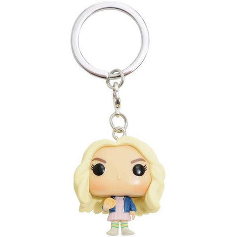 Stranger Things - Eleven w/Wig Pop! Keychain