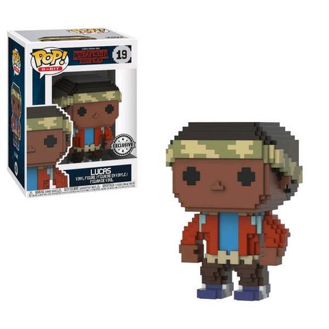 Stranger Things - Lucas 8-Bit Pop!