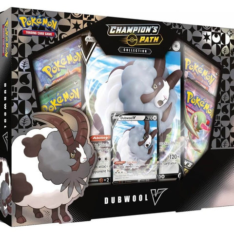 Pokemon TCG Champion's Path Collection- Dubwool V  Box