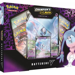 Pokemon TCG Champion's Path Collection- Hatterene V Box