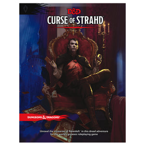 D&D Curse Of Strahd - Book