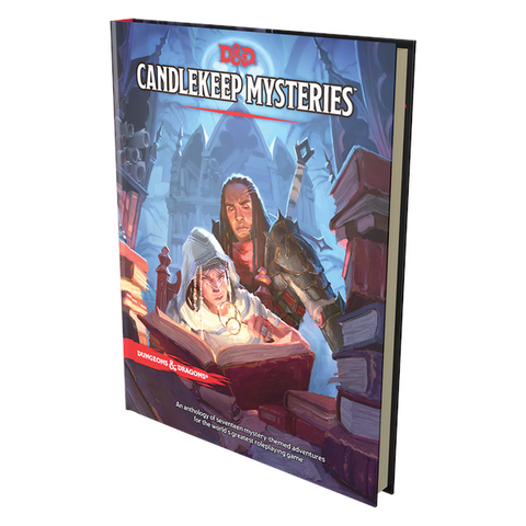 Image of D&D Candlekeep Mysteries Book - Release 16 March 21