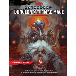 D&D Dungeon Of The Mad Mage - Book