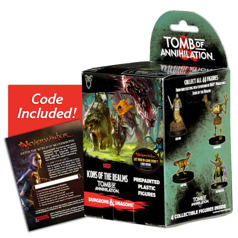 Dungeons & Dragons - Icons of the Realms Set 7 Tomb of Annihilation Booster