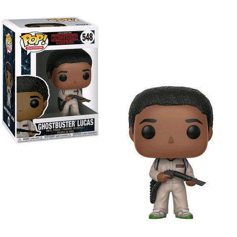 Stranger Things - Lucas Ghostbuster Pop!