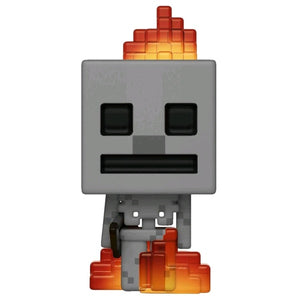 Minecraft - Skeleton with Fire US Exclusive Pop! Vinyl [RS]