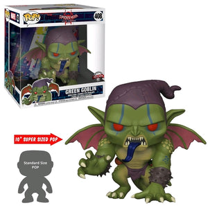"Spider-Man: Into the Spider-Verse - Green Goblin 10"" US Exclusive Pop! Viny"