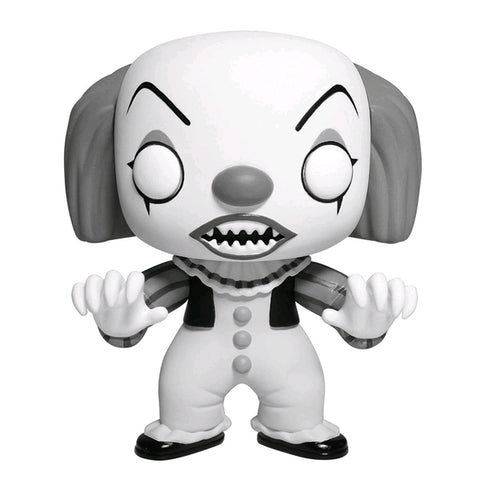 It - Pennywise Black and White pop Vinyl