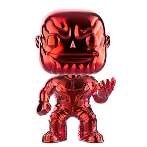 Avengers 3 Infinity War - Thanos Red Chrome pop