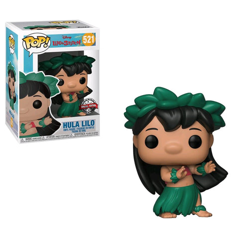 Lilo & Stitch - Lilo in Hula Skirt US Exclusive Pop! Vinyl [RS]