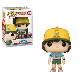 Stranger Things - Dustin Arcade Cat Tee US Exclusive Pop! Vinyl [RS]