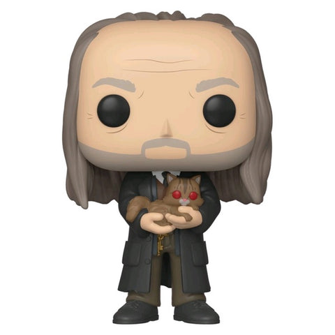 Harry Potter - Filch &Mrs Norris Yule Pop! NY19 RS