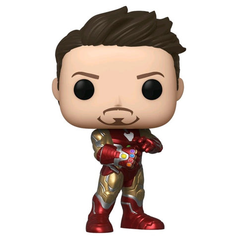 Avengers 4 - Iron Man w/Gauntlet Pop! NY19 RS