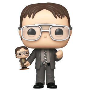 The Office Dwight with Bobblehead Pop! Vinyl NY19