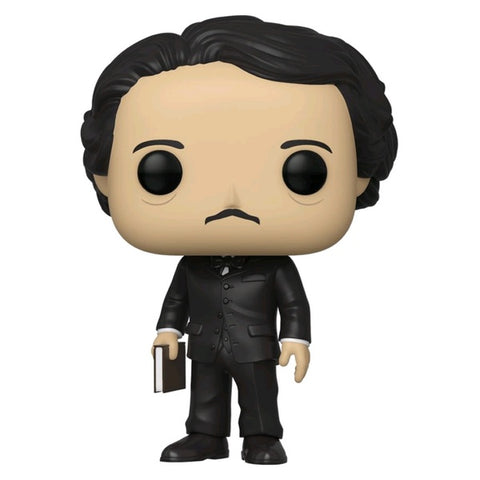 Pop Icons Edgar Allan Poe with Book Pop! Vinyl NY19
