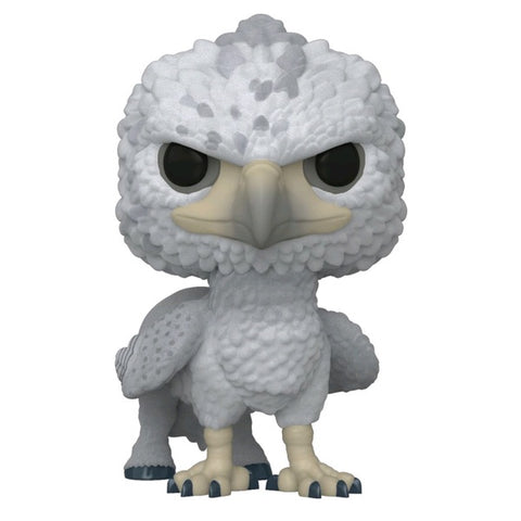 Harry Potter - Buckbeak US Exclusive Flocked Pop! Vinyl