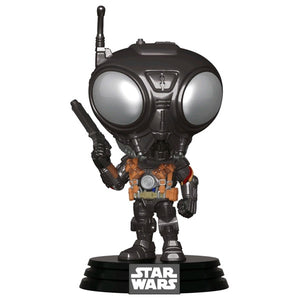 Star Wars: Mandalorian - Q9-Zero Metallic Pop! Vinyl