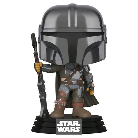Star Wars: Mandalorian -Chrome  Mandalorian US Exclusive Pop! Vinyl [RS