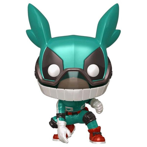 My Hero Academia - Deku with Helmet Metallic US Exclusive Pop! Vinyl [RS]