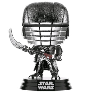 Star Wars - Knight of Ren Scythe Episode IC Rise of Skywalker Hematire Chrome Pop! Vinyl