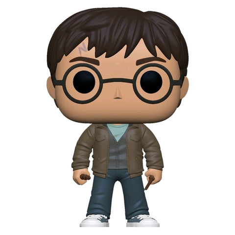 Harry Potter - Harry with Two Wands US Exclusive Pop! Vinyl [RS]