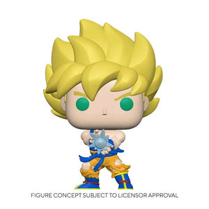 Dragon Ball Z - Super Saiyan Goku with Kamehameha Wave Pop! Vinyl