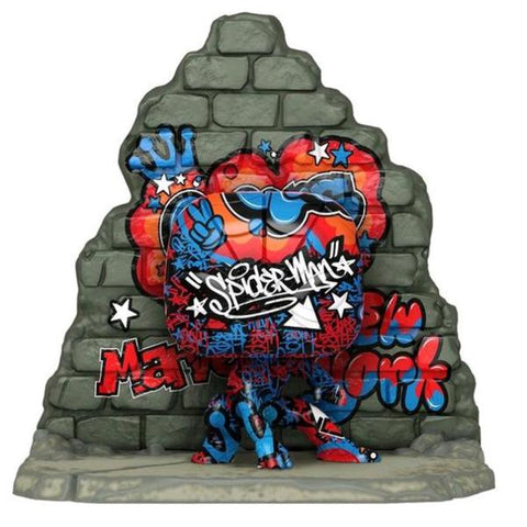 SpiderMan - Graffiti Deco US Exclusive Pop! Deluxe [RS]