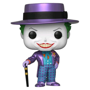 Batman 1989 - Joker with Hat Metallic US Exclusive Pop! Vinyl [RS]