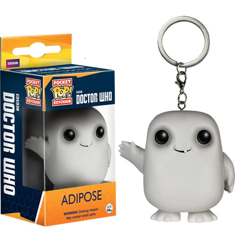 Dr Who - Adipose Pop! Keychain