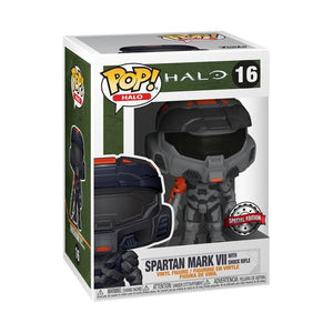 Halo Infinite - Mark VII Black with Shock Rifle US Exclusive Pop! Vinyl [RS]