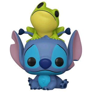 Lilo & Stitch - Stitch with Frog US Exclusive Pop! Vinyl [RS]