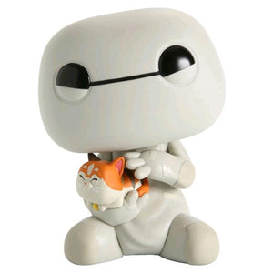 "Big Hero 6 - Baymax with Mochi US Exclusive 6"" Pop! Vinyl [RS]"