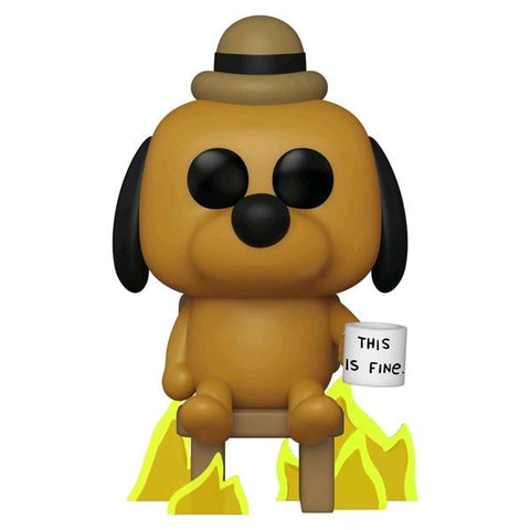 Icons - This Is Fine Dog US Exclusive Pop! Vinyl [RS]