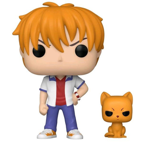 Fruits Basket - Kyo with Cat US Exclusive Pop! Vinyl [RS]