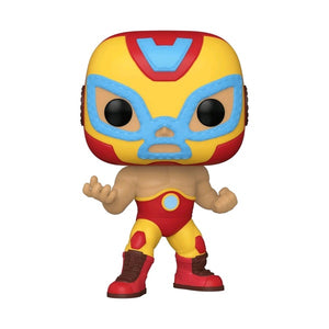 Iron Man - Luchadore Iron Man Pop! Vinyl