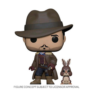 His Dark Materials - Lee with Hester Pop! Vinyl