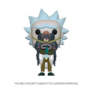 Rick and Morty - Rick with Glorzo Pop! Vinyl