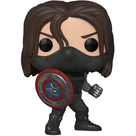 Captain America - Winter Soldier Year of the Shield US Exclusive Pop! Vinyl [RS
