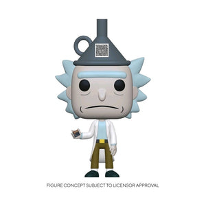 Rick and Morty - Rick with Funnel Hat US Exclusive Pop! Vinyl [RS]
