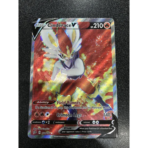 Cinderace V Full Art Rebel Clash