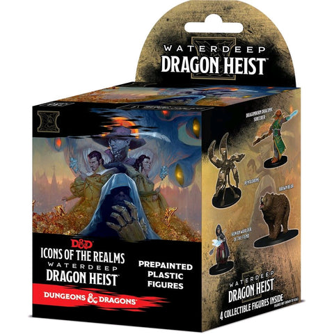 D&D - Ir Set 9 Waterdeep Dragon Heist Booster