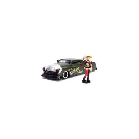 DC Bombshells - Harley Quinn 1951 Mercury 1:24 Scale Hollywood Rides Diecast Vehicle