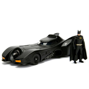 Batman (1989) - Batmobile with Batman 1:24 Scale Diecast Model Kit