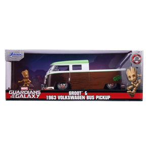 Guardians of the Galaxy: Vol. 2 - 1962 Volkswagon Bus with Groot 1:24 Scale Hollywood Ride