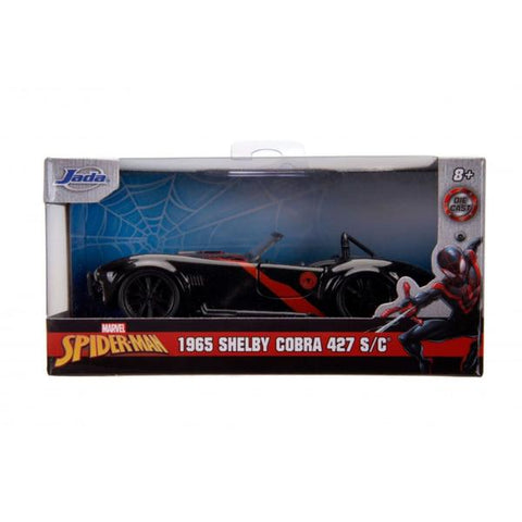 Spider-Man - Miles Morales 1965 Shelby Cobra 1:32 Scale Hollywood Ride