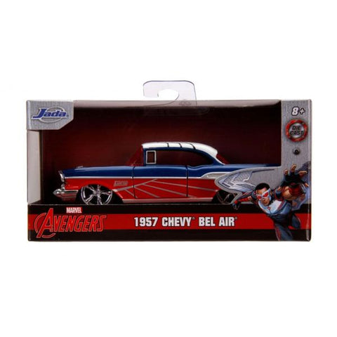 Captain America - Falcon 1957 Chevy Bel-Air 1:32 Scale Hollywood Ride