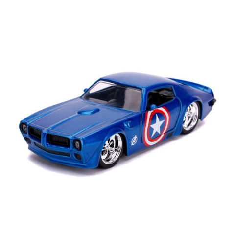 Captain America - Captain America 1972 Pontiac Firedbird 1:32 Scale Hollywood Ride