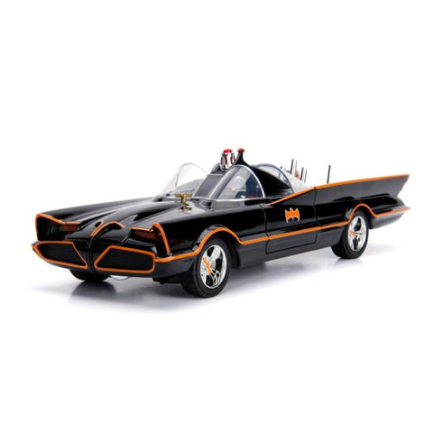 Image of Batman (1966) - Batmobile 1:18 w/Batman